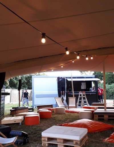Carpa Beduina Beige Chillout